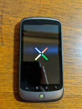 HTC Google Nexus One - Black (Unlocked) Smartphone Global Model VG Very Good