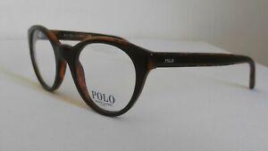 Polo Ralph Lauren PH2174-5260 Designer Eyeglasses Glasses Frames Black on Havana
