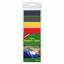 Coghlan's Nylon Repair Tape Rip-Stop Adhesive Kit Backing Camping Tent Jacket