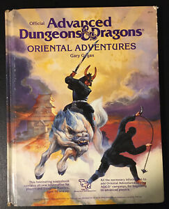 ORIENTAL ADVENTURES - Advanced Dungeons & Dragons - Gary Gygax TSR 1985 1st Good