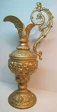 Art Nouveau Decorative Urn Pitcher Cherubs Devil Face Dragons Maidens Ornate