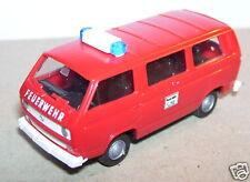 ROCO HO 1/87 VW VOLKSWAGEN COMBI SAPEURS POMPIERS 112