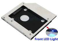2nd disco duro HDD SSD Caddy Adaptador para Fujitsu Lifebook S760 S761 S762 p770