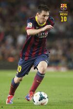 Rare FC Barcelona LIONEL MESSI MAGNIFICENT Spanish La Liga Soccer Action POSTER