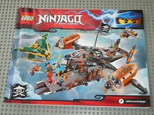 Notice Building instruction booklet  LEGO NINJAGO Skybound set 70605