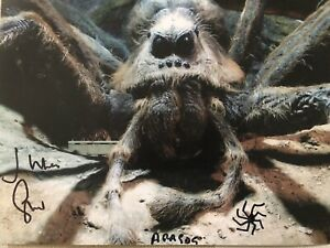 Julian Glover Signed Harry Potter Aragog Photograph With Exact Photo Proof