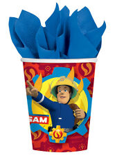 Fireman Sam Hero Childs Birthday Party Supplies Decorations Balloons Favours 8pk Paper Cups 266ml