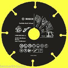 Bosch Carbure Multi Wheel Carbide 125 Mm 2608623013 Disque de Coupe