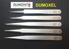 Dumont Dumoxel Swiss Made Polished Professional Watchmakers Tweezers Ref. 0103