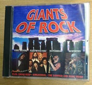 Giants of Rock - Various Artists - CD Album - Brand New - Motorhead, Hawkwind...