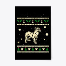 "Christmas Australian Cattle Dog Gift Poster - 24""x36"""