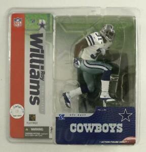 NOS Dallas Cowboys Roy Williams 31 NFL Football Player McFarlane Action Figure