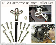 13PC Harmonic Balance Puller Crankshaft Gear Pulley Flywheel Balancer Steering