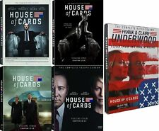 House of Cards: The Complete Series Seasons 1-5 DVD Bundle Set New 1 2 3 4 5