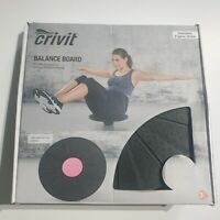 Crivit Balance Board Home Fitness Gym coordination Training Strength Equipment