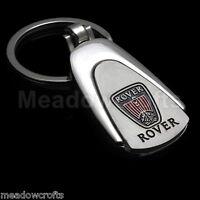 Rover Key Ring NEW - UK Seller - Silver - Car Keyring