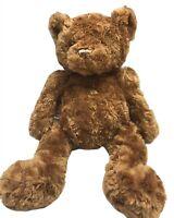 """Toys R Us Teddy Bear 20"""" Brown 2011 Geoffrey Cuddly Plush Stuffed Animal Toy"""