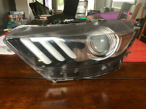 Driver Headlight Xenon HID Shelby GT350 2015-2018 Ford Mustang