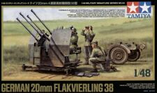Tamiya 1/48 20mm Flakvierling 38 # 32554