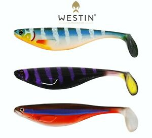 WESTIN Fishing Lures ShadTeez LIMITED EDITION 9cm 10cm 12cm Shad Teez Pike Perch