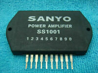 1pc SANYO SS1001 POWER AMPLIFIER IC SEMICONDUCTOR