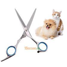 1pc Professional Pet Dog Stainless Steel Grooming Hair Scissor Straight Scissor
