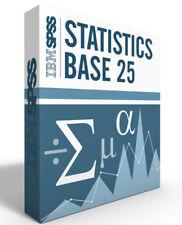 Spss Statistics Grad Pack 25.0 Base Windows or Mac 6 month License