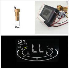 2in1 Autos LCD Voltmeter Voltage Gauge+Water Temperature Meter+Sensor+M10 Screw