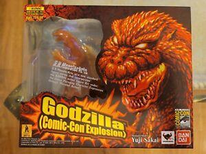 SDCC 2012 Exclusive S. H. Monster Arts Bandai Godzilla (Comic-Con Explosion)New