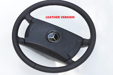 OEM Mercedes Steering Wheel R107 C107 C123 W123 G C124 W124 W126 NEW - LEATHER