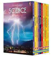 Usborne Beginners Science Series 10 Books Children Collection Hardback Box Set
