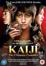 KAIJI THE ULTIMATE GAMBLER-(DVD)-NEW&SEALED-TATSUYA FUJIWARA & YUKI AMAMI