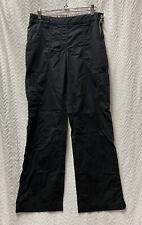Koi by Kathy Peterson Black Size Medium Cargo Scrub Pants Style 709