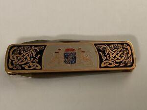 EKA Sweden Made U.S.R.A. Coat of Arms (3) Blade Pocket Knife
