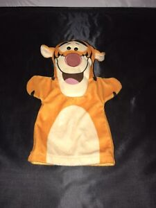 """Disney Tigger Hand Puppet Plush Or Golf Head Cover 10"""" Inches"""