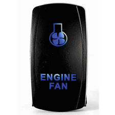 Tuff LED Lights - 2 way Rocker Blue Engine Fan LED Switch High Quality