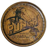 Antique Advertising Tin - Punch Polish Mop ☆Rare Item☆