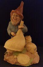 Tom Clark 1984 Gnome Johann Signed Vintage Figurine Statue Seashell Retired