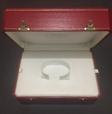 Genuine Cartier CO 1015 Watch Jewelry Box!  Excellent Condition!