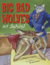 Big Bad Wolves at School-ExLibrary