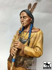 "Black Dog 1/10 ""Autumn Song"" Indian Native American playing Flute Bust B10019"