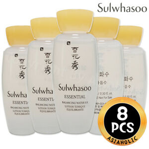 Sulwhasoo Essential Balancing Water EX 15ml x 8pcs (120ml) Sample Newist Version