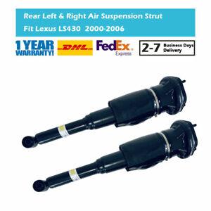 Pair Rear Air Suspension Strut Fit Lexus LS430 2000-2006 4809050130 4808050110