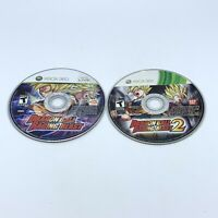 Dragon Ball: Raging Blast 1 & 2 Lot (Microsoft Xbox 360) Disc Only