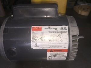 DAYTON 5K435BB 3/4 HP 1725 RPM 56C FRAME 115/208-230V ODP ENCL SINGLE PH 60 HZ
