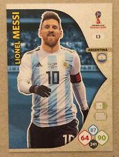 Panini World Cup Russia 2018 Lionel Messi No. 13