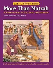 More Than Matzah: A Passover Feast of Fun-ExLibrary
