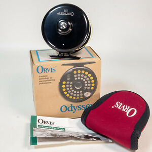 Orvis Odyssey III Fly Reel Mint in Box W/ Paperwork - For 8, 9 and 10 Wt Line