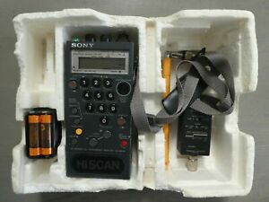 RARE Faulty SONY ICF-PRO80 Synthesized World-Band Radio Reciever with extra Kit
