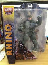 MARVEL SELECT SPIDER-MAN VILLAIN THE RHINO ACTION FIGURES COMIC KIDS DIAMOND TOY